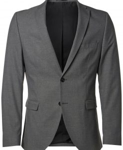 SELECTED Slim Fit Blazer Mænd Grå