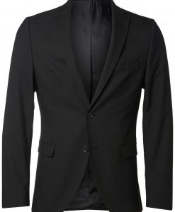 SELECTED Slim Fit Blazer Mænd Sort