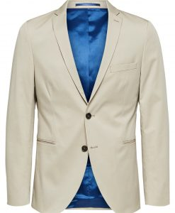 SELECTED Slim Fit - Blazer Mænd Beige