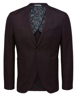 SELECTED Tailored - Blazer Mænd Brun