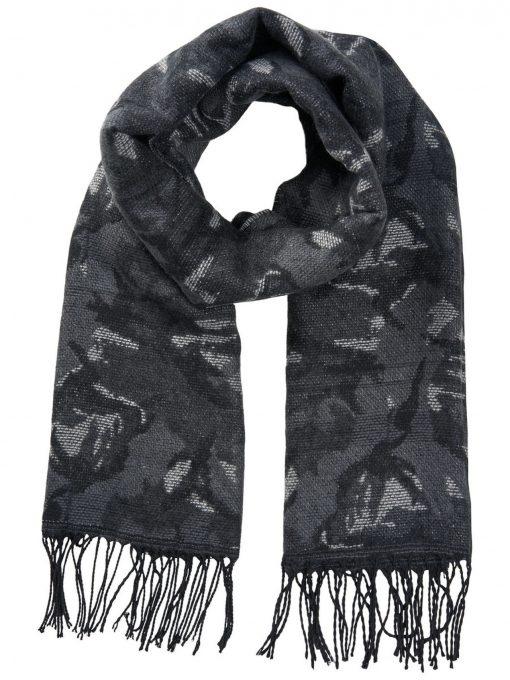 JACK & JONES Camouflageprintet Tørklæde Mænd Grå