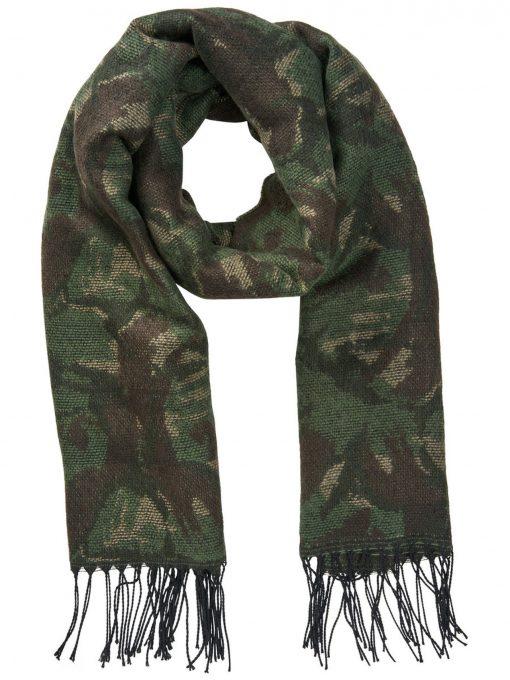 JACK & JONES Camouflageprintet Tørklæde Mænd Grøn