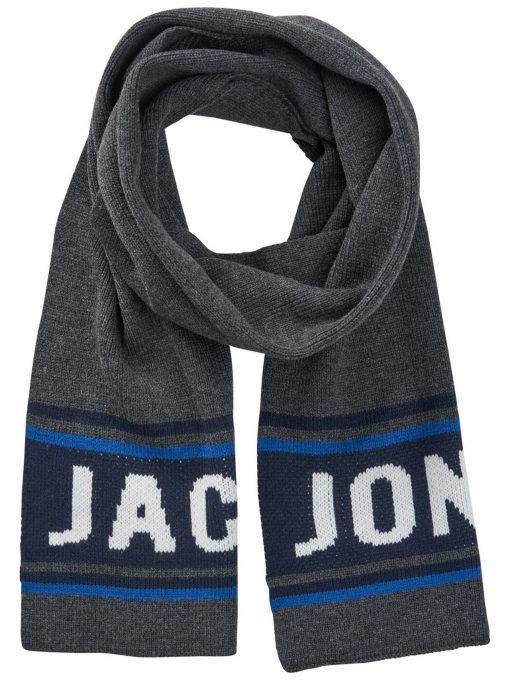 JACK & JONES Logoprintet Tørklæde Mænd Grå