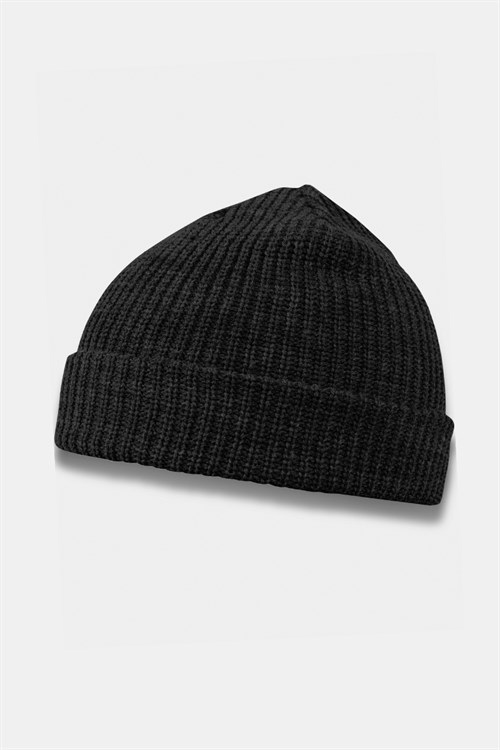 Basic Brand Fisherman Beanie Hue Black