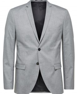 SELECTED Slim Fit - Blazer Mænd Grå