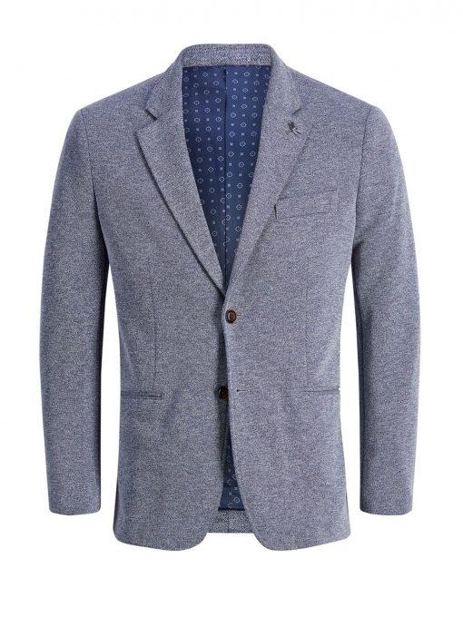 JACK & JONES Slim Fit Blazer Mænd Blå
