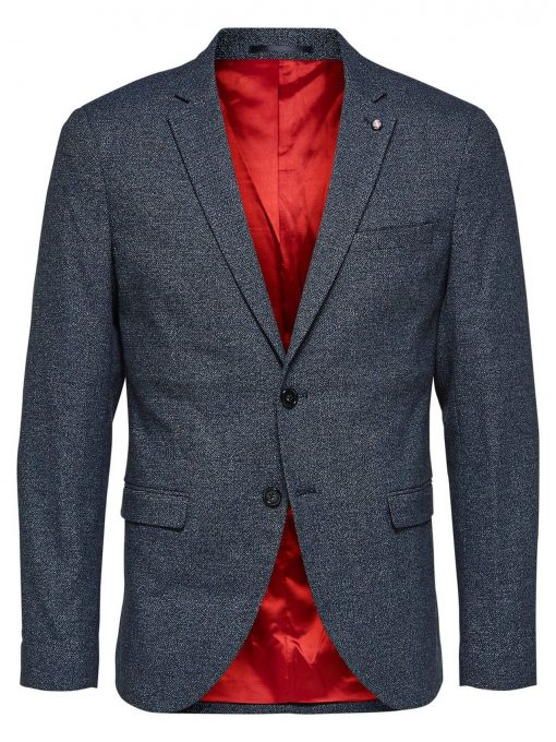 SELECTED Slim Fit - - Blazer Mænd Blå
