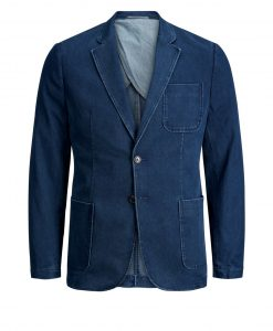 JACK & JONES Denim Blazer Mænd Blå