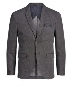 JACK & JONES Struktureret Blazer Mænd Sort