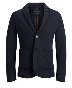 JACK & JONES To Lommer Blazer Mænd Sort