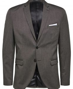 SELECTED Slim Fit - Blazer Mænd Brun