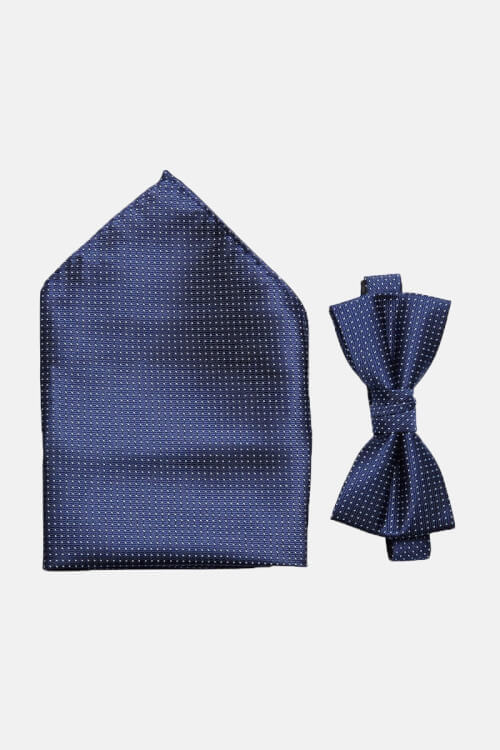 Selected ShdWilly Basic Butterfly/Lommeklud Box Navy Blazer Comb 4