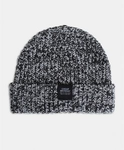 Cheap Monday Skull Beanie Hue Salt/Pepper