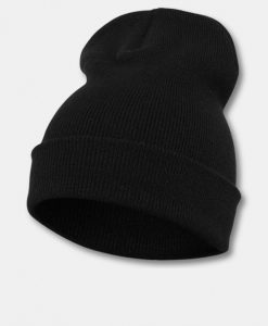 Flexfit Heavyweight Long Beanie Hue Black