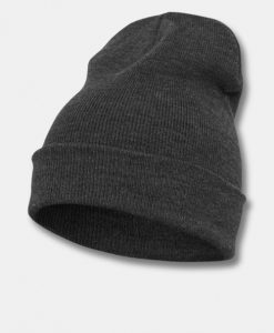 Flexfit Heavyweight Long Beanie Hue Charcoal