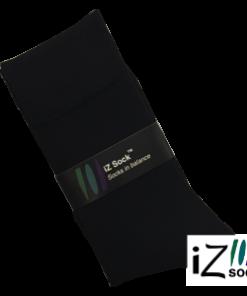 12 par iZ Sock - Bambus strømper i høj kvalitet. Sorte