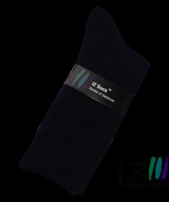 12 par iZ Sock - Bambus strømper, marineblå i høj kvalitet.