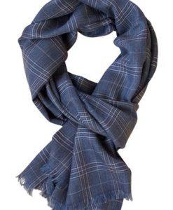 Italiensk luksus tørklæde i 100% cashmere - oliven