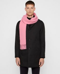 J.LINDEBERG Champ Wool Tørklæde Mænd Lyserød