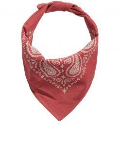 JACK & JONES Paisley Printet Bandana Tørklæde Mænd Rød