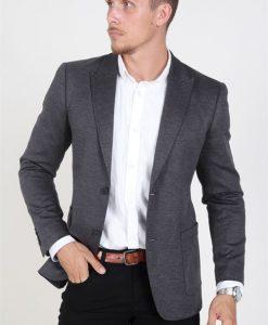 Only & Sons Elias 2B Casual Blazer Dark Grey Melange