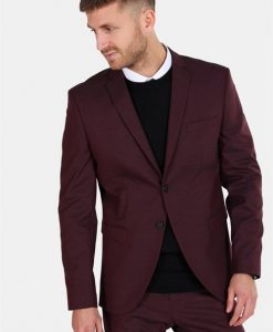 Selected Slim-MyloLogan Blazer Fudge