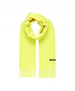 J.LINDEBERG Champ Wool Tørklæde Mænd Green; Yellow