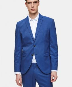 Selected Slim-Mylo Logan Blazer Insignia Blue