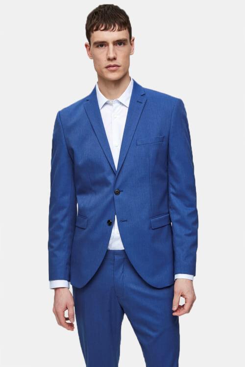Selected Slim-Mylo Logan Blazer Insignia Blue