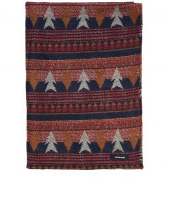 JACK & JONES Navajo Vævet Tørklæde Mænd Rød