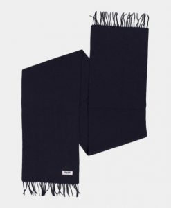 Le Fix Scarf Navy