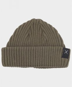 Clean Cut Beanie Hue Army
