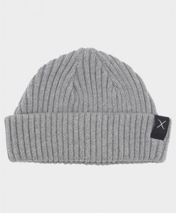 Clean Cut Beanie Hue Light Grey Melange