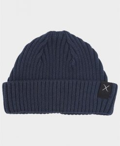 Clean Cut Beanie Hue Navy