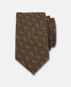 Connexion Mønstret slips Guld