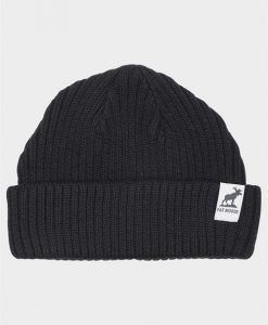 Fat Moose Fat Beanie Hue Black