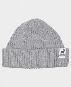 Fat Moose Fat Beanie Hue Light Grey Mel