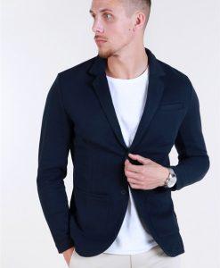 Jack & Jones Premium Luther Bla. Sweat Blazer Super Skinny Fit Dark Navy