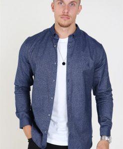 Jack & Jones jprlogo twist shirt L/S sts Navy Blazer