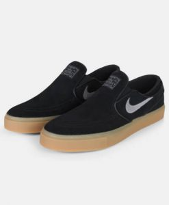 Nike Zoom Stefan Janoski Slip Blk/Gunsmoke-Gum Light Brown