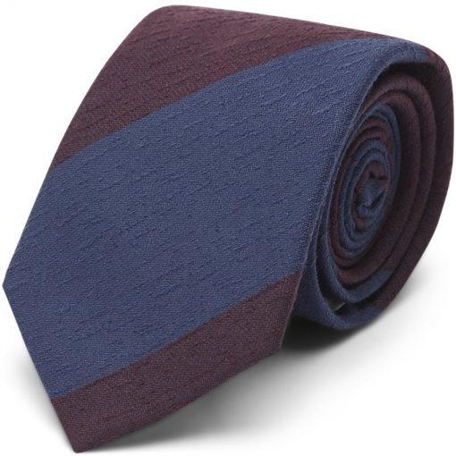 An Ivy - Burgundy Textured Slips