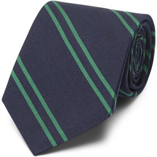 An Ivy - Navy Green School Slips