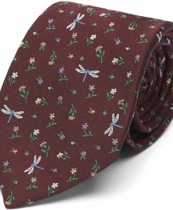 Paul Smith Accessories Regular fit 552M A40685 Slips Bordeaux