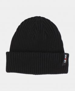 Le Fix Beanie Cotton Sailor Black