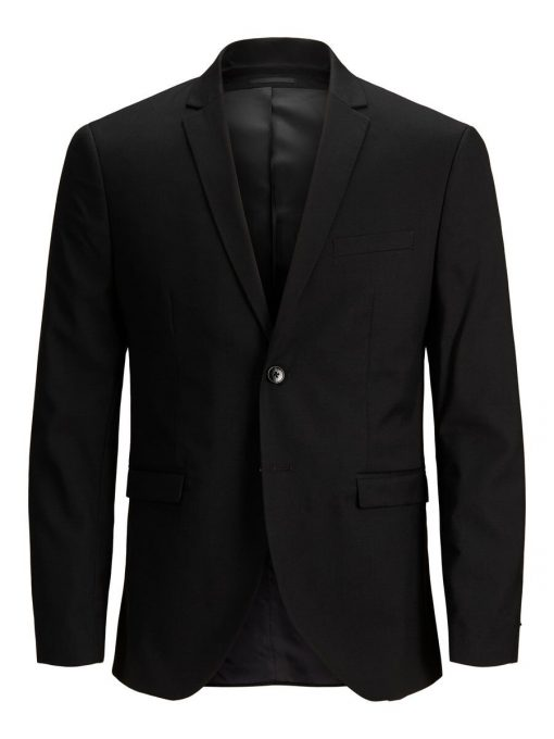 JACK & JONES Super Slim Blazer Mænd Sort