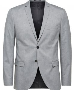 SELECTED Slim Fit - Blazer Mænd Grå