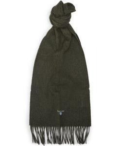 Barbour - PLAIN LAMSWOOL SCARF Tørklæder