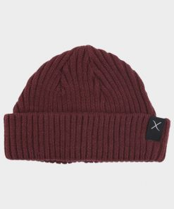 Clean Cut Beanie Hue Bordeaux