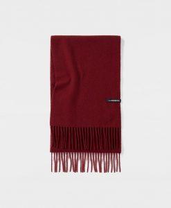 J.LINDEBERG Champ Unisex Wool Tørklæde Mænd Rød