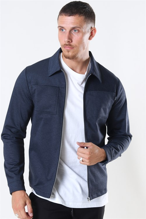 Jack & Jones Phil Sweat Jakke Navy Blazer